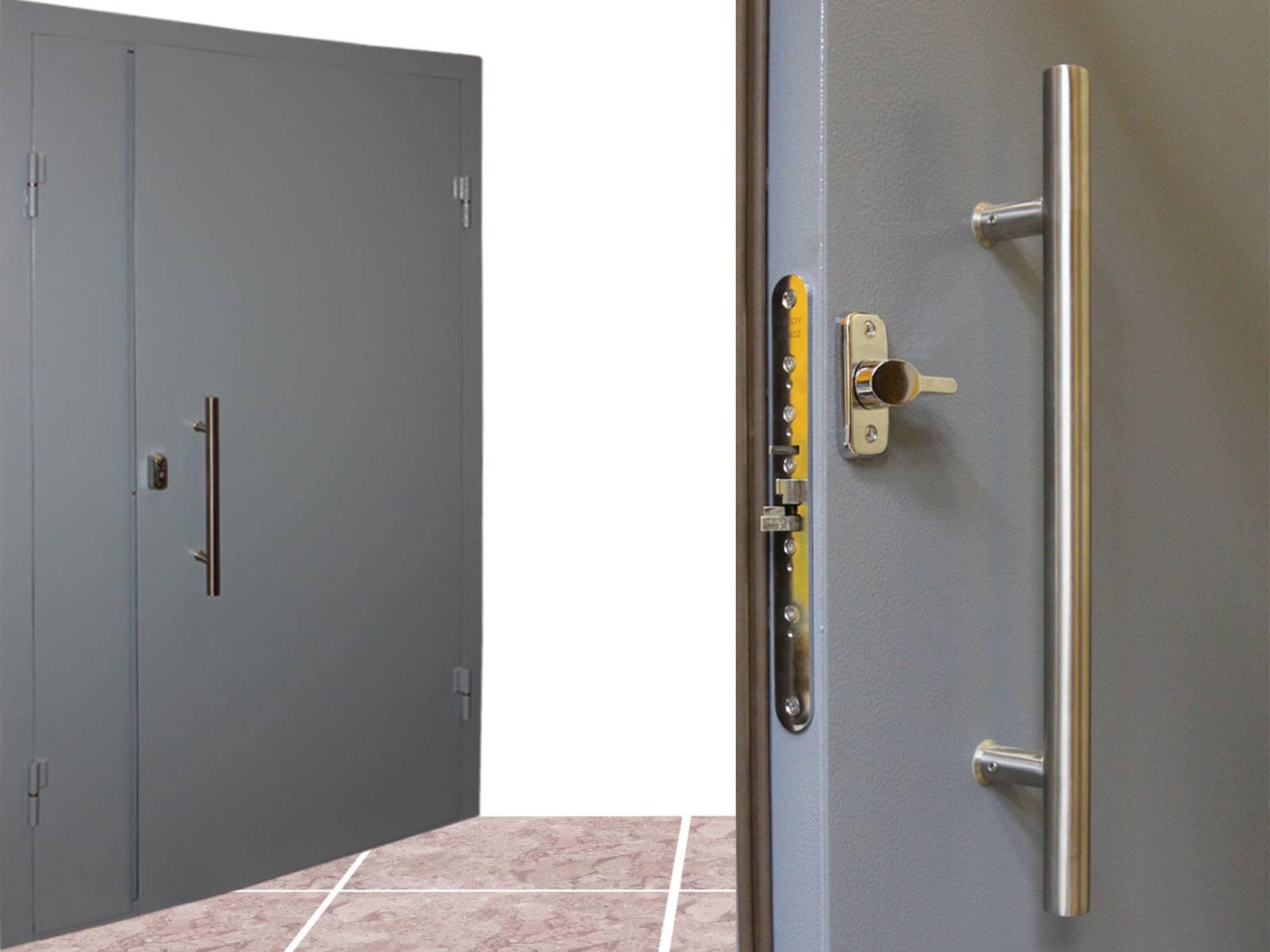 Как установить тамбурную дверь на лестничной площадке